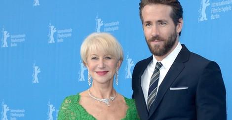 Helen Mirren y Ryan Reynolds en la 65º edición del Festival de Cine de Berlín