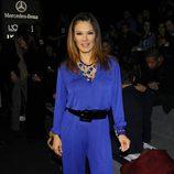 Ivonne Reyes en el front row de Devota & Lomba en la Madrid Fashion Week otoño/invierno 2015/2016