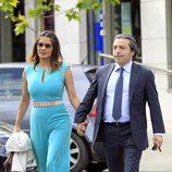 Ivonne Reyes con su novio el empresario Jesús Arranz
