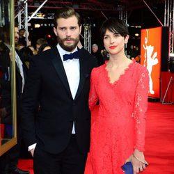 Jamie Dornan y Amelia Warner en el estreno de 'Cincuenta sombras de Grey' en la Berlinale 2015