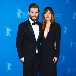 Jamie Dornan y Dakota Johnson en el estreno de 'Cincuenta sombras de Grey' en la Berlinale 2015