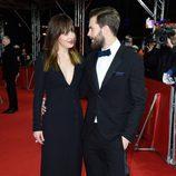 Jamie Dornan y Dakota Johnson muy cómplices en el estreno de 'Cincuenta sombras de Grey' en la Berlinale 2015