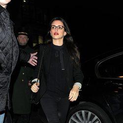 Penélope Cruz llegando a una cena en Londres