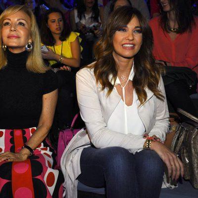Carmen Lomana y Mariló Montero en la Madrid Fashion Week otoño/invierno 2015/2016