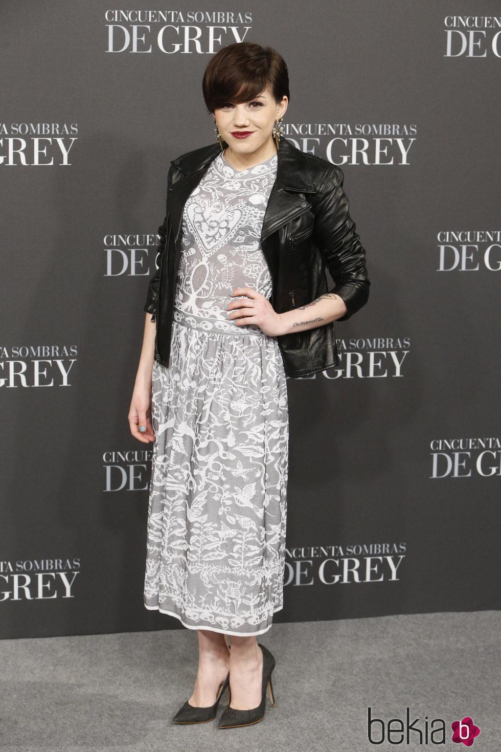 Angy fern ndez en el estreno de 39 cincuenta sombras de grey - 50 sombras de grey en espana ...