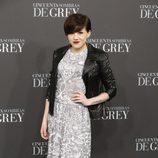 Angy Fernández en el estreno de 'Cincuenta sombras de Grey' en Madrid