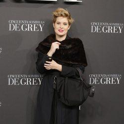 Tania Llasera en el estreno de 'Cincuenta sombras de Grey' en Madrid