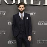 Enrique Solís en el estreno de 'Cincuenta sombras de Grey' en Madrid