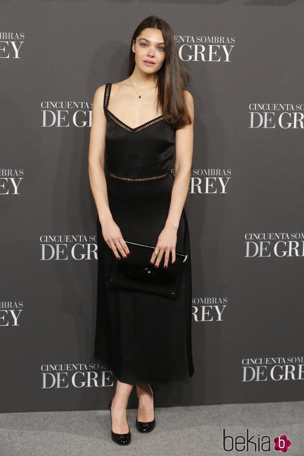 Ana Rujas en el estreno de 'Cincuenta sombras de Grey' en Madrid