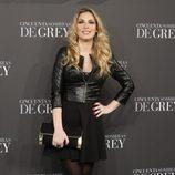 Roser en el estreno de 'Cincuenta sombras de Grey' en Madrid