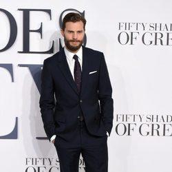 Jamie Dornan en el estreno de 'Cincuenta sombras de Grey' en Londres