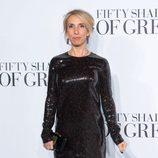 Sam Taylor-Johnson en el estreno de 'Cincuenta sombras de Grey' en Londres