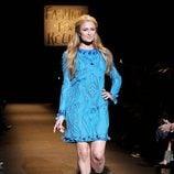 Paris Hilton en el desfile Fashion for Relief de Nueva York