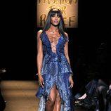 Naomi Campbell en el desfile Fashion for Relief de Nueva York