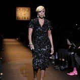 Mary J. Blige en el desfile Fashion for Relief de Nueva York