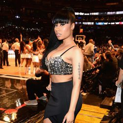 Nicki Minaj en el All Star Game 2015