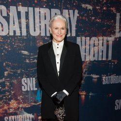 Glenn Close en la fiesta del 40 aniversario de 'Saturday Night Live'
