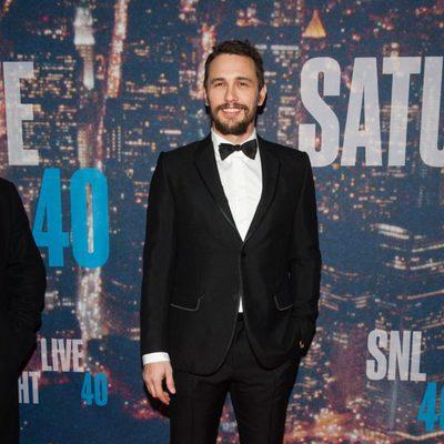James Franco en la fiesta del 40 aniversario de 'Saturday Night Live'