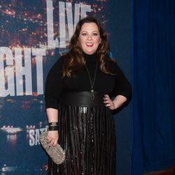 Melissa McCarthy en la fiesta del 40 aniversario de 'Saturday Night Live'