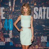 Taylor Swift en la fiesta del 40 aniversario de 'Saturday Night Live'