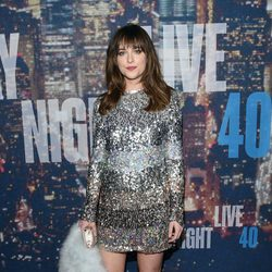 Dakota Johnson en la fiesta del 40 aniversario de 'Saturday Night Live'