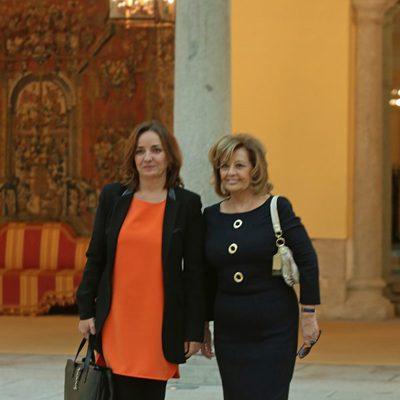 Pepa Bueno y María Teresa Campos en los Premios Nacionales de Cultura