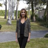 Melani Olivares en la presentación de 'Bajo sospecha'