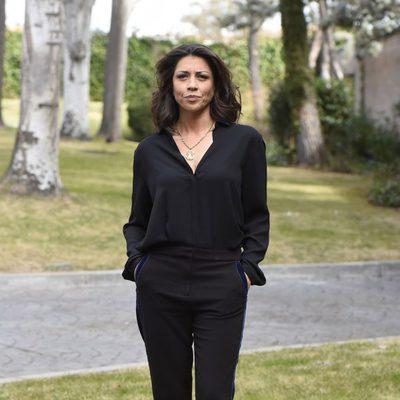Alicia Borrachero en la presentación de 'Bajo sospecha'