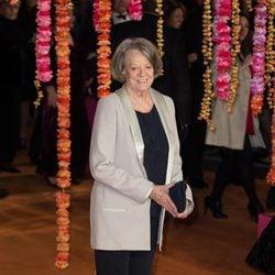 Maggie Smith en el estreno de 'El nuevo exótico Hotel Marigold'