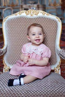 La Princesa Leonor de Suecia cumple 1 año