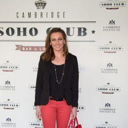 Melani Costa en la inauguración del Cambridge Soho Club de Madrid