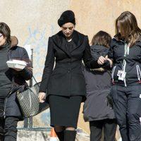 Monica Bellucci en el rodaje de 'SPECTRE'
