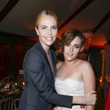 Charlize Theron y Kristen Stewart en los Premios César 2015