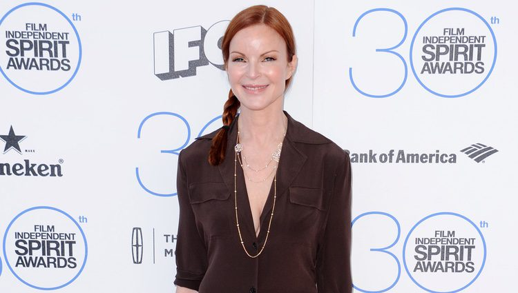 Marcia Cross en los Independent Spirit Awards 2015