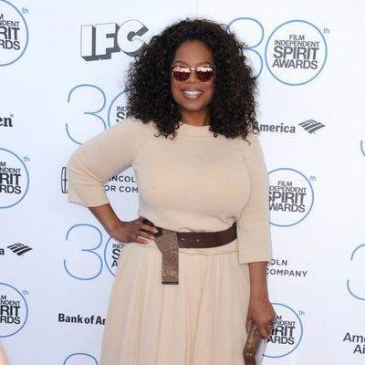 Oprah Winfrey en los Independent Spirit Awards 2015