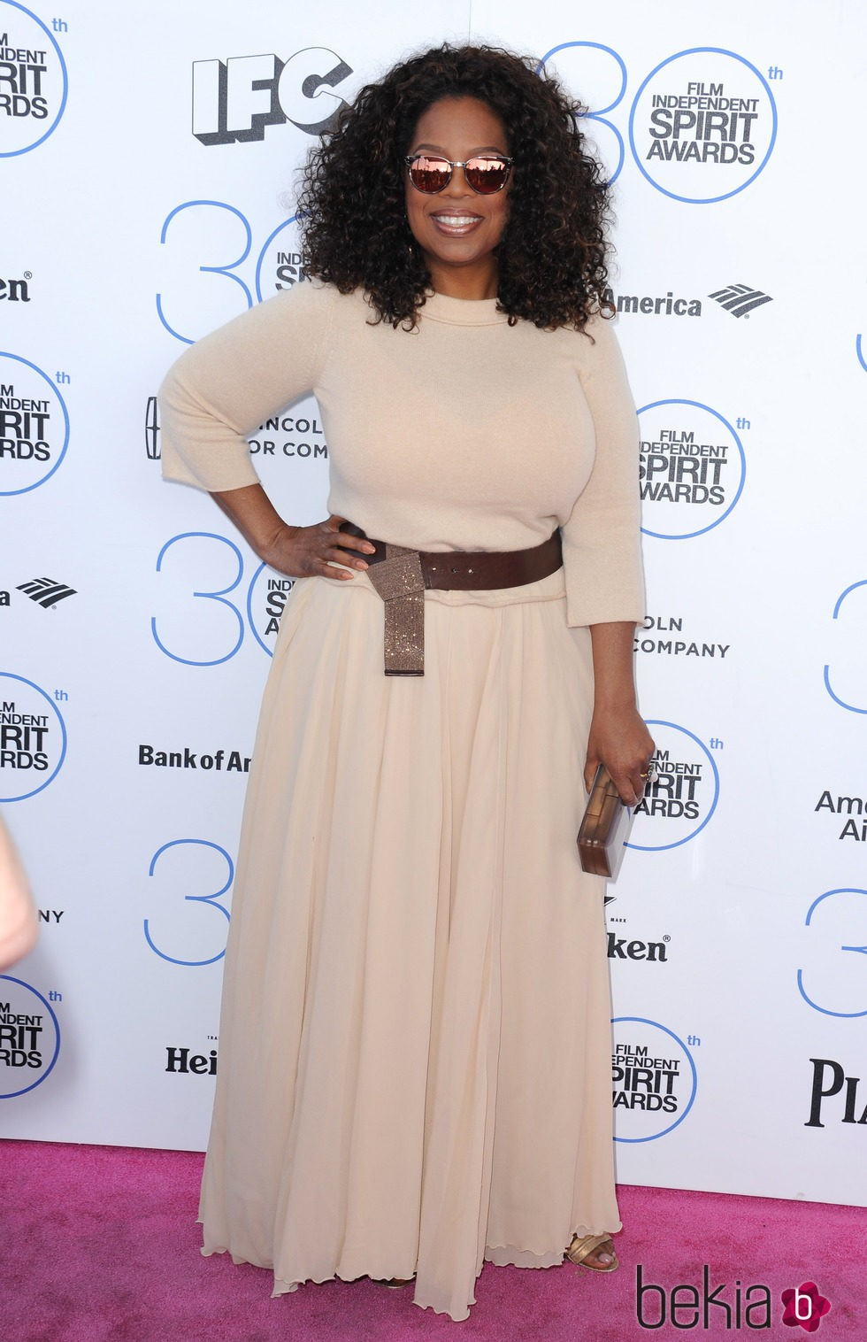 Oprah Winfrey en los Independent Spirit Awards 2015