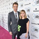 Dax Shepard y Kristen Bell en los Independent Spirit Awards 2015