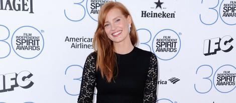 Jessica Chastain en los Independent Spirit Awards 2015