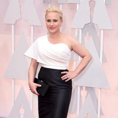 Patricia Arquette en la alfombra roja de los Oscar 2015