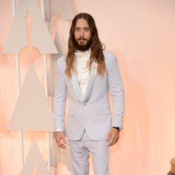 Jared Leto posa en la alfombra roja de los Oscar 2015