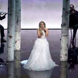 Lady Gaga protagoniza el homenaje musical a 'Sonrisas y lágrimas' en los Oscar 2015