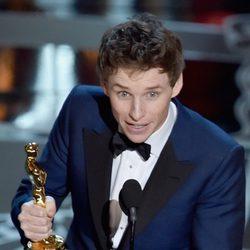 Eddie Redmayne se alza con el premio de Mejor Actor en los Oscar 2015