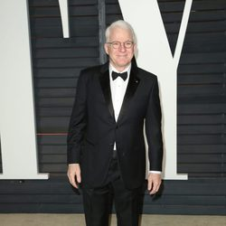 Steve Martin en la fiesta Vanity Fair tras los Oscar 2015
