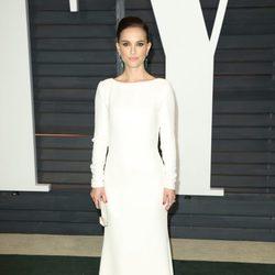 Natalie Portman en la fiesta Vanity Fair tras los Oscar 2015