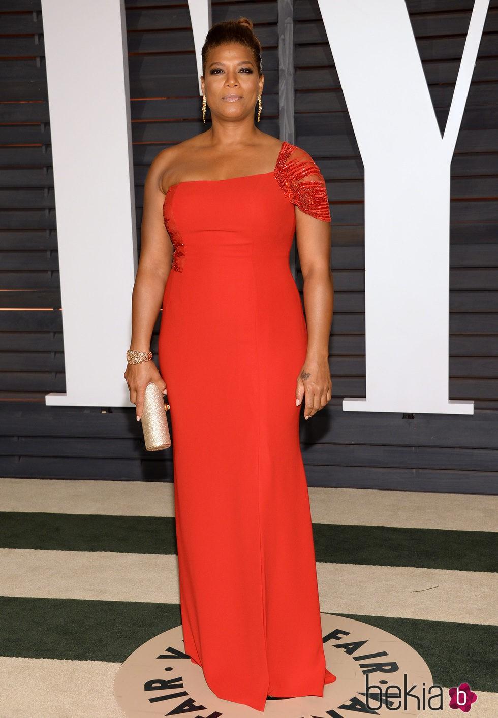 Queen Latifah en la fiesta Vanity Fair tras los Oscar 2015