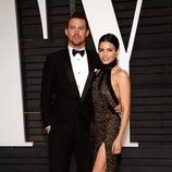 Channing Tatum y Jenna Dewan en la fiesta Vanity Fair tras los Oscar 2015