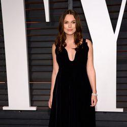 Keira Knightley en la fiesta Vanity Fair tras los Oscar 2015