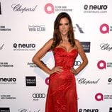 Alessandra Ambrosio en la fiesta de Elton John tras los Oscar 2015