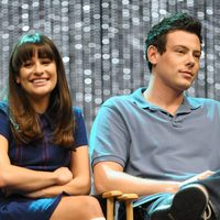Lea Michele y Cory Monteith en la 300th Musical Performance de 2011