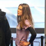 Carlota Casiraghi en el aeropuerto de Los Ángeles entre rumores de embarazo
